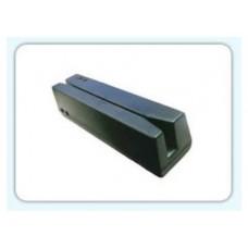 LECTOR DE BANDA MAGNETICA 3 PISTAS USB NEGRO