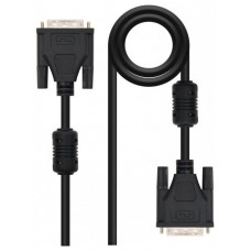 CABLE DVI SINGLE LINK 18+1, M-M, 1.8 M