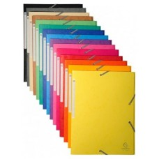 CARPETA EXACLAIR CARTON A4 MIX 50UDS