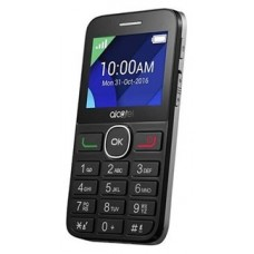ALCATEL 20.08G 2.4P/2MP/SD NEGRO PLATA (Espera 3 dias)