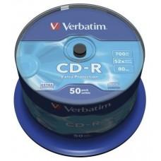 CD VERBATIM DATALIFE 700MB 50U