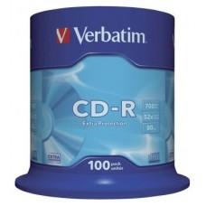 CD VERBATIM DATALIFE 700MB 100U