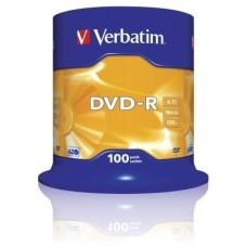 DVD-R VERBATIM 4.7GB 100U