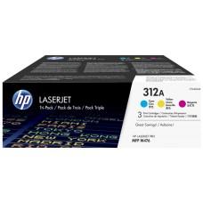 HP PACK DE AHORRO DE 3 TONER LASERJET HP 312A CIAN/MAGENTA/AMARILLO
