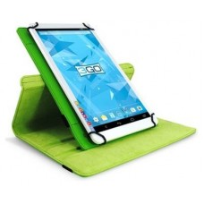 "3go Funda Tablet 10"" - Verde - Simil Piel -"