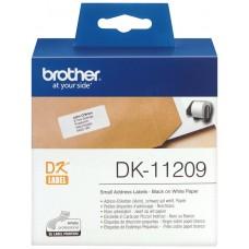 BROTHER ETIQUETA PRECORTADA PAPEL 29X62MM 800