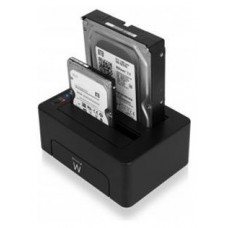 BASE CONECTORA DUO HDD EWENT EW7015 SATA / USB 3.0