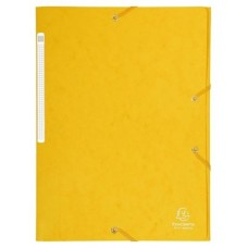 CARPETA EXACLAIR CARTON A4 AMARILLO