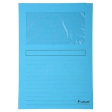 CARPETA EXACLAIR A4 AZUL