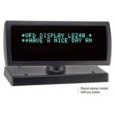 Visor para clientes LD240 VFD negro conexion USB 2