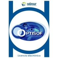 SOFTWARE OPTISOFT LICENCIA ELECTRO GESTION OPTICAS