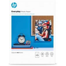 HP PAPEL INKJET 200GR 25 HOJAS PACK 1 A4 FOTOGRAFICO