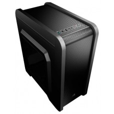 AEROCOOL QS240 BLACK MICRO-ATX USB3.0 WINDOW +12CM