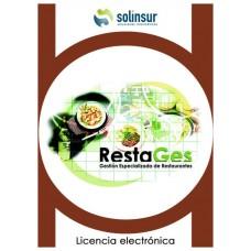 SOFTWARE RESTAGES LICENCIA ELECTRO GESTION RESTAUR