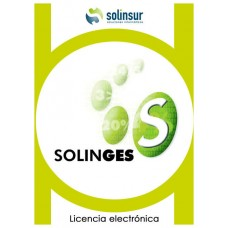 SOFTWARE SOLINGES LICENCIA ELECTRO GESTION FACTUR