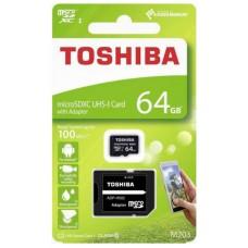 Toshiba THN-M203K0640EA 64GB MicroSDXC UHS Clase 10 memoria flash