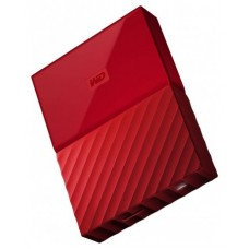 "DISCO DURO EXTERNO 2.5"" 1TB WD MY PASSPORT USB 3.0 RED"